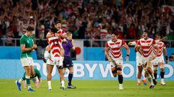 これぞ「ノーサイド」。ラグビーワールドカップで大金星の日本に、アイルランド代表がとった行動が清々しい