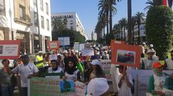 Des centaines de Marocains ont marché vendredi pour le