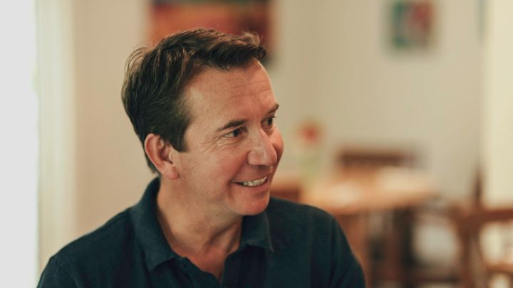 Former Liberal cabinet minister Scott Brison sits down for an interview with HuffPost in Summerville, N.S.