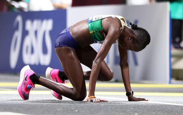 Maratón en los campeonatos del Mundo de Atletismo de