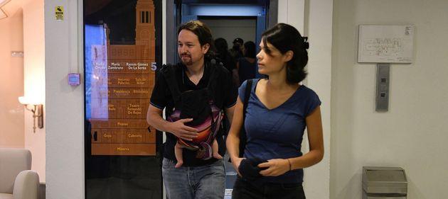 Pablo Iglesias llega al Consejo Ciudadano de Podemos con su