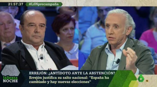 Jesús Maraña y Eduardo Inda en 'LaSexta