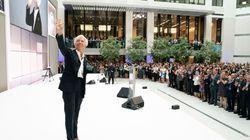 Christine Lagarde a fait ses adieux au