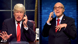 Alec Baldwin's Trump Plots With A Wacky 'Rudy' On Impeachment In 'SNL' Season