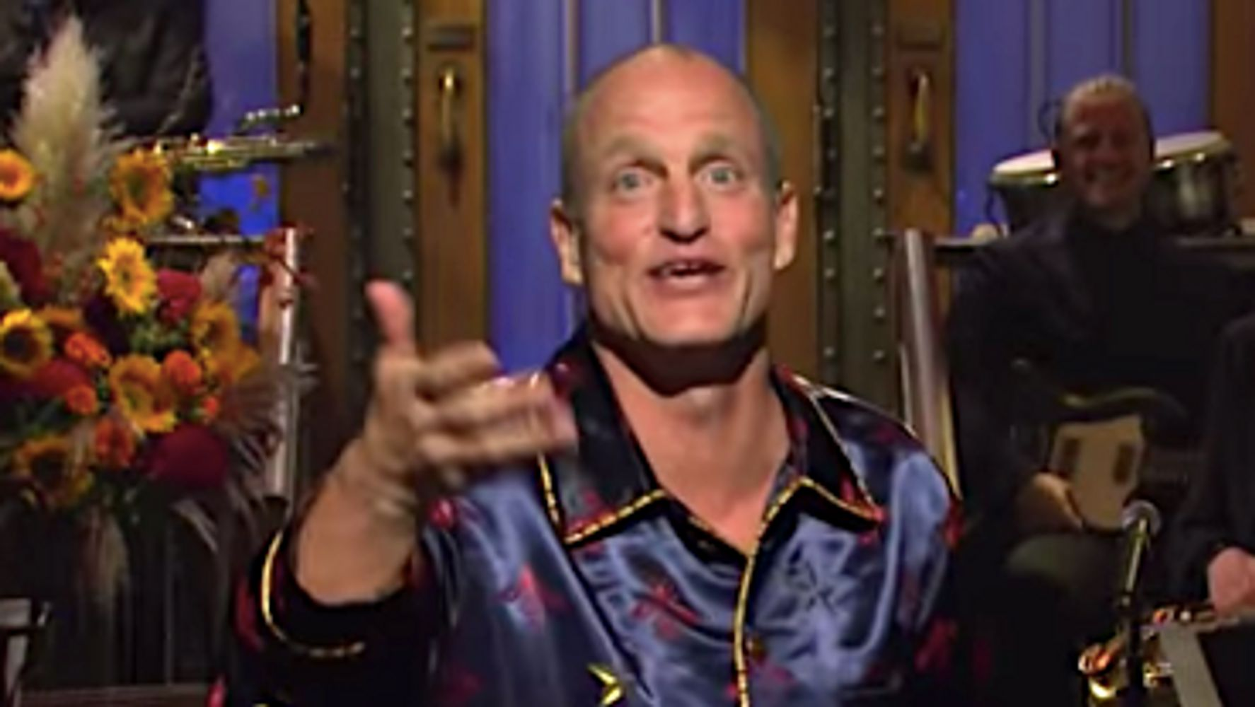 Westlake Legal Group 5d9058b92100005a00fd5d42 Woody Harrelson Calls Melania Sole Immigrant Who Watches Fox In Quirky 'SNL' Monologue