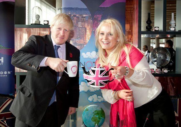 Boris Johnson and Jennifer Arcuri
