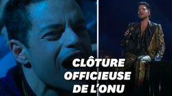 Queen joue pour la bonne cause avec Adam Lambert au