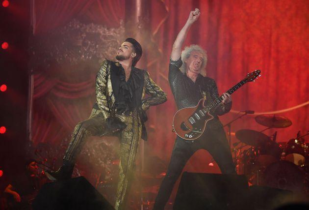 Adam Lambert et Brian May de Queen ont clôturé l'Assemblée générale...