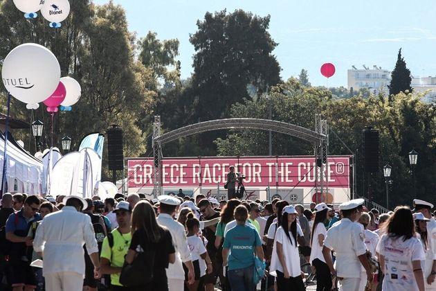 Greece Race For Cure: 36.000 δρομείς σε έναν ξεχωριστό Γύρο της Αθήνας ενάντια στον καρκίνο του