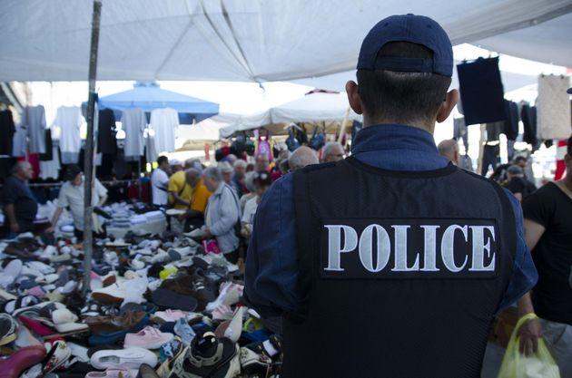 Αστυνομική επιχείρηση στο κυριακάτικο υπαίθριο παζάρι του