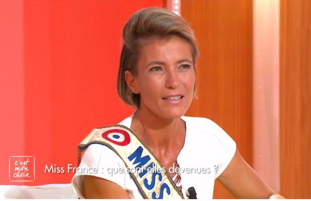 Gaëlle Voiry, Miss France 1990 est morte dans un accident de la route (ici sur le plateau de