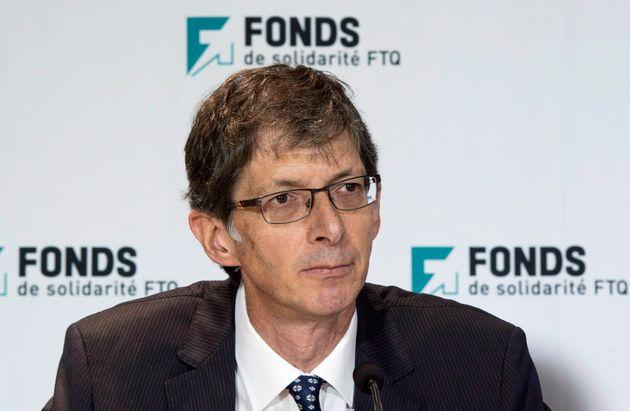 Gaétan Morin,président et chef de la direction du Fonds de solidarité FTQ...