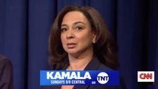 Kamala Harris Έχει Την Τέλεια Απάντηση Μάγια Ρούντολφ του