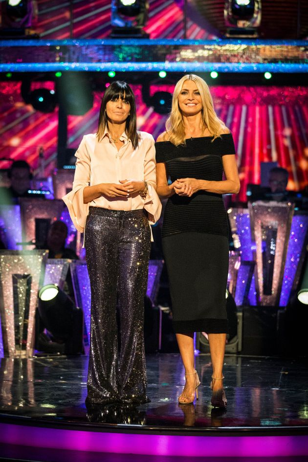 Strictly hosts Claudia Winkleman and Tess