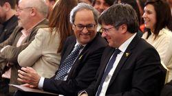 Los CDR detenidos actuaron de enlace entre Puigdemont y Torra para el intercambio de