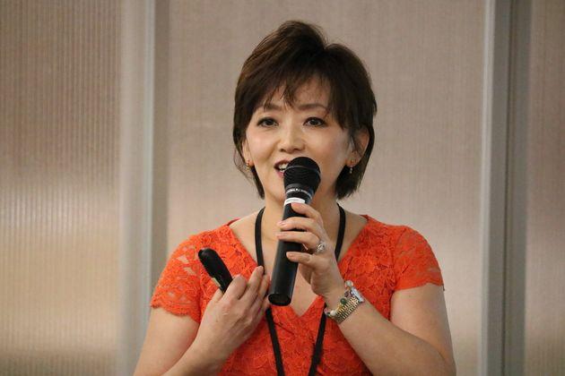 セールスフォース・ドットコム人事本部 人事プログラムシニアマネージャーの酒寄久美子さん