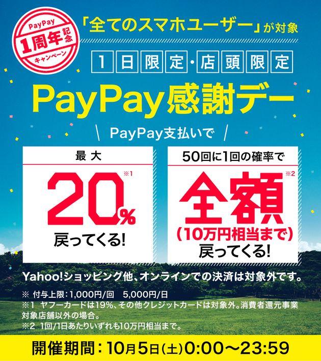 消費税10%でキャッシュレスポイント還元を受ける方法。PayPayやLINE