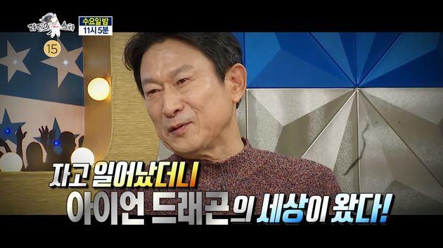 배우 김응수가 '곽철용' 캐릭터로 강제 전성기를 맞게 된 소감을