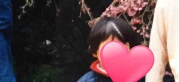 ヒオカさんの幼少期の写真
