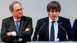 La hermana de Puigdemont actuó de enlace entre el expresidente, Torra y los