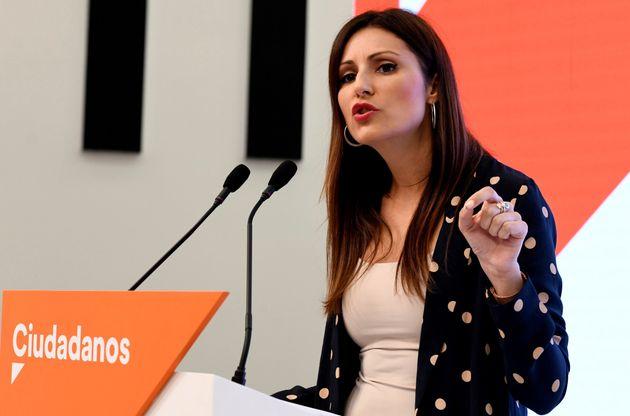 La portavoz de la ejecutiva de Ciudadanos, Lorena