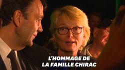 Aux Invalides, Claude Chirac remercie les