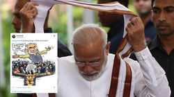 #GoBackModi Is Top Twitter Trend Again As PM Lands In