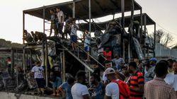 Φωτιά στη Μόρια: Μία νεκρή, βρέθηκε το