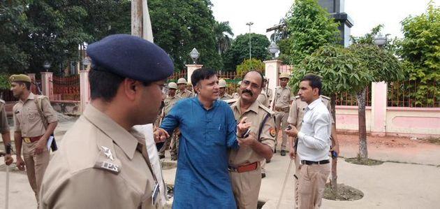 Congress leaders detained in Uttar