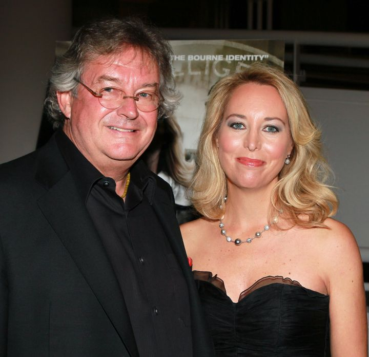 Former ambassador Joseph Wilson, left, and his ex-wife, former CIA officer Valerie Plame Wilson, in 2010.