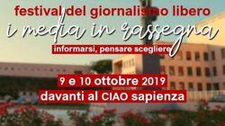 Alla Sapienza il 9 e 10 ottobre il festival del giornalismo libero: