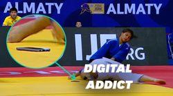 Aux Mondiaux de judo, elle perd son combat... à cause de son