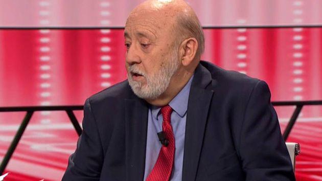 El presidente del CIS, José Félix Tezanos, en Al Rojo
