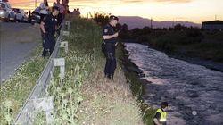 Dos detenidos por lanzar al río a un menor de 13 años en