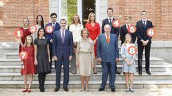 De Froilán a Sofía: guía para no perderte con los ocho nietos de la Familia