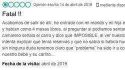 La comentada respuesta de una sidrería de Gijón a este comentario: