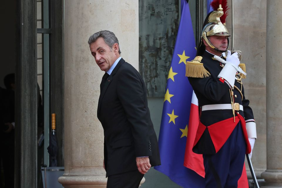 O πρώην πρόεδρος της Γαλλίας, Νικολά Σαρκοζί