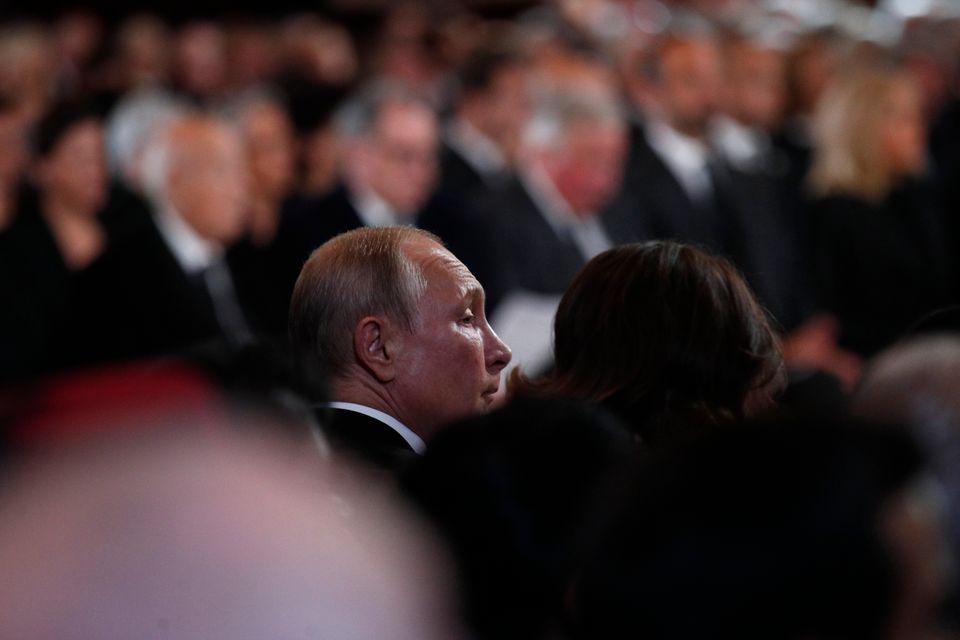 Ο πρόεδρος της Ρωσίας,...