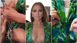 Ecco come è (ri)nato il vestito Versace con cui Jennifer Lopez ha incantato tutti