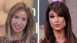 Le ha ocurrido a María Patiño y a Sonia Ferrer justo el mismo día: en la imagen está la