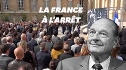 La minute de silence pour Jacques Chirac observée partout en