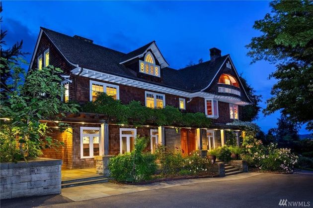 C'est dans cette maison de Seattle que le leader de Nirvana s'était donné la mort le 5 avril