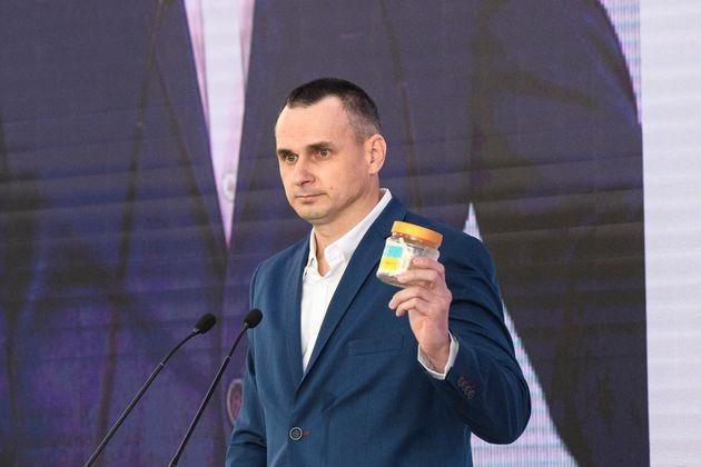 Le réalisateur Oleg Sentsov en Ukraine le 13