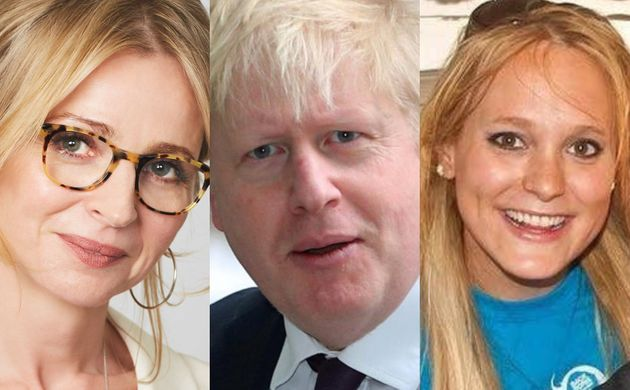 Charlotte Edwardes, Boris Johnson y Jennifer