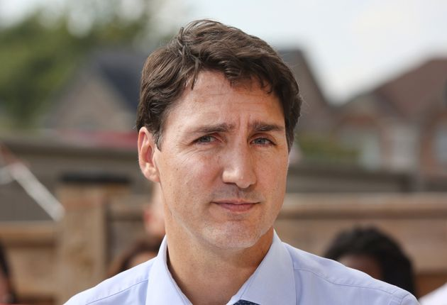 Justin Trudeau, Leader of the Liberal Party of Canada in Brampton, Ont. on Sept. 22,
