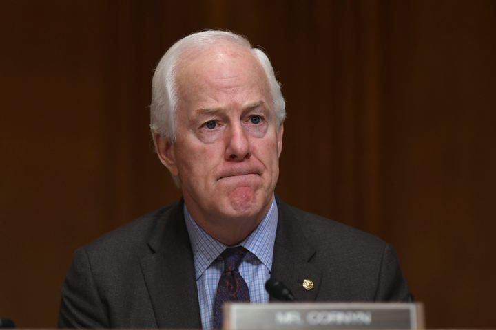 Sen. John Cornyn said Donald Trump's call with the Ukrainian president, in which Trump repeatedly pressured him to investigat