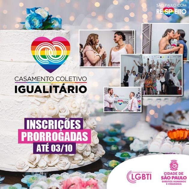 Prefeitura de SP realiza pela terceira vez casamento coletivo