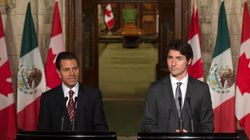Trudeau Addresses Deaths Of Protesting Mexican