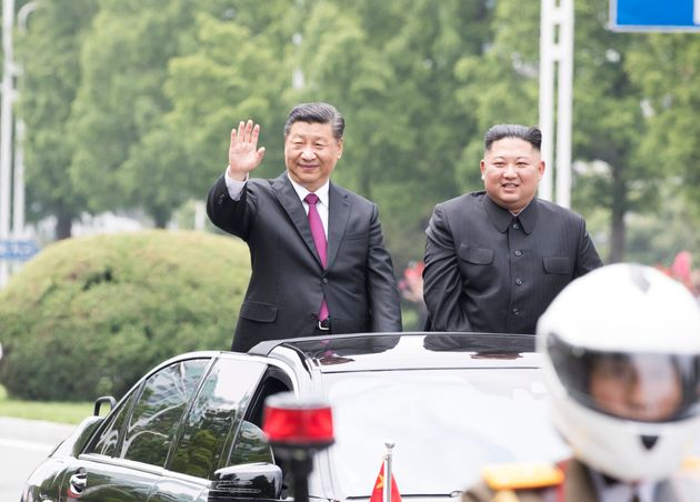 PYONGYANG, June 20, 2019 -- General Secretary of the Central Committee of the Communist Party of China...