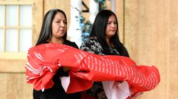 Watch Emotional Ceremony Naming All Residential School